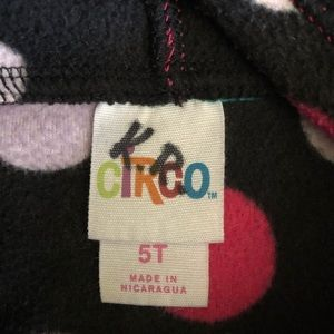 Circo Shirts & Tops - Circo Polka Dot Fleece Hoodie
